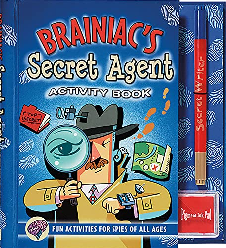 9780880884464: Brainiac's Secret Agent Activity Book: Fun Activities for Spies of All Ages (Activity Books) (Activity Journal Series)