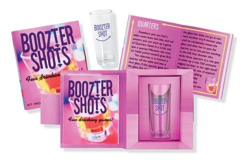 9780880884655: Boozter Shots: Fun Drinking Games! (Petites Plus Series)