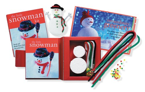 9780880884969: The Little Snowman Kit: Book and Build-Your-Own Snowman Kit (Holiday, Christmas) (Petites Plus Series)