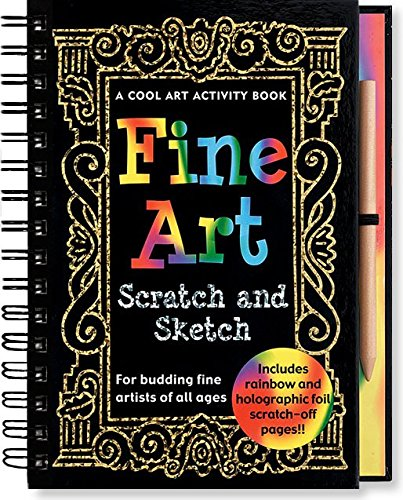 Fine Art Scratch and Sketch: A Cool Art Activity Book for Budding Fine Artists of All Ages (Scratch & Sketch) (Activity Books) (9780880885966) by Kerren Barbas