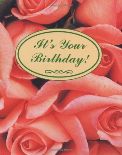 It's Your Birthday! with Bookmark (Petites) (0880888369) by Kaufman, Lois L.