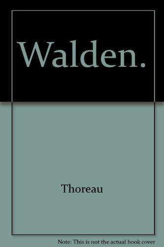 an analysis of the book walden by mark van doren a critical study of henry david thoreau and his wor Edited by mark van doren new york: dover  science and religion: a critical survey thoreau, henry david.
