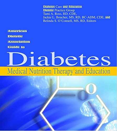 9780880913331: American Dietetic Association Guide to Diabetes Medical Nutrition Therapy And Education