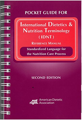 9780880914277: Pocket Guide for International Dietetics and Nutrition Terminology (Idnt) Reference Manual
