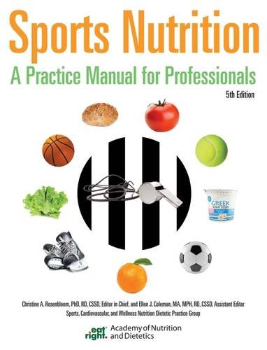 9780880914529: Sports Nutrition: A Practice Manual for Professionals
