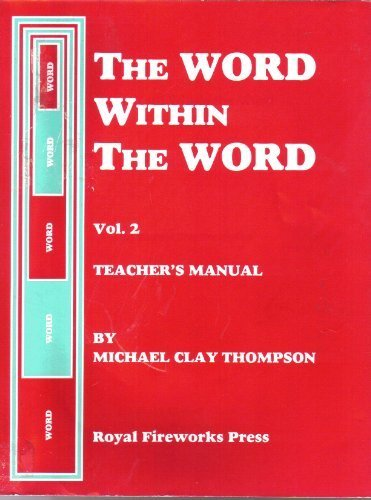 9780880922036: The Word Within The Word (TEACHER'S MANUAL, Vol. 2)