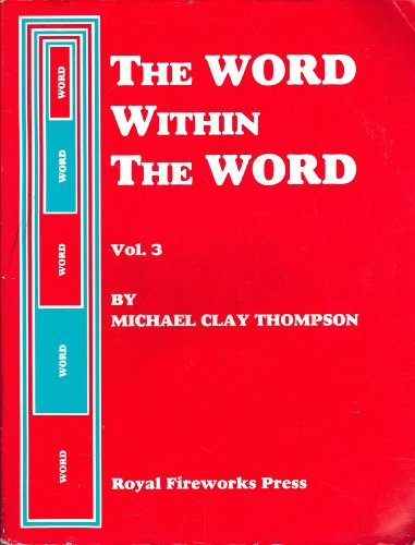 9780880922043: Word Within the Word Student Book 3