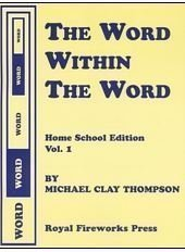 9780880925570: Word Within the Word Volume 1: Home School Edition for Parents