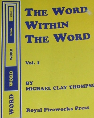 9780880925860: The Word Within the Word, Vol. 1