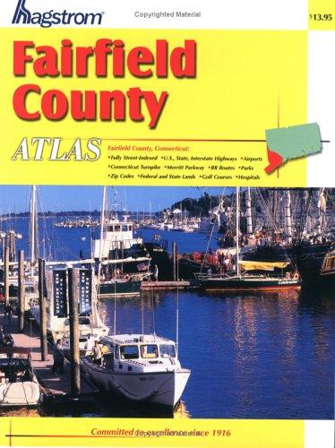 9780880970143: Hagstrom Fairfield County Atlas