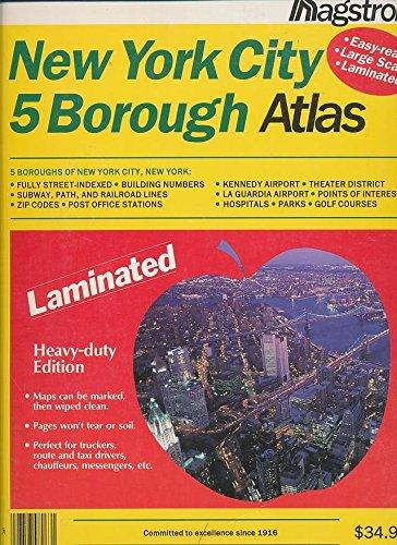 9780880970280: Hagstrom New York City 5 Borough Atlas: Laminated (HAGSTROM NEW YORK CITY FIVE BOROUGH ATLAS (LAMINATED))