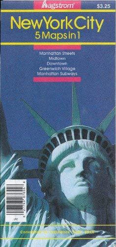 9780880971072: NYC 5-In-1 Souvenir Pocket Map