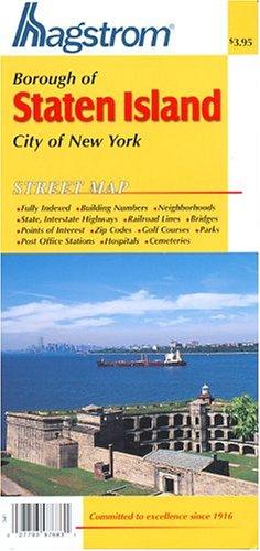 9780880971140: Staten Island, N.Y. Pocket Map