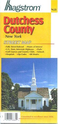 9780880971201: Hagstrom Dutchess County New York Street Map