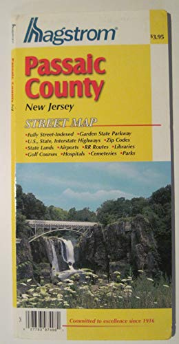 Passaic County, New Jersey Pocket Map