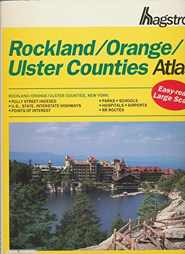 9780880972451: Hagstrom Rockland/Orange/Ulster Counties Atlas: New York