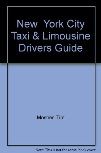9780880976206: New York City Taxi & Limousine Drivers Guide