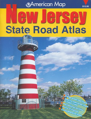9780880977975: American Map New Jersey State Road Atlas