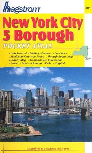 9780880978002: New York City 5 Borough Pocket Atlas