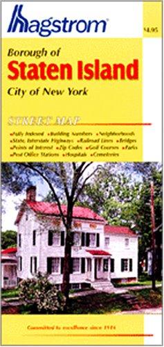 9780880978323: Staten Island Map