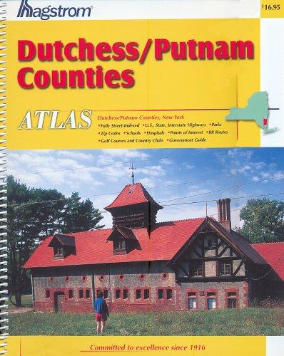 9780880978446: Hagstrom Dutchess/Putnam Counties Ny Atlas