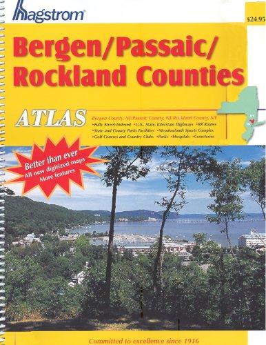 9780880978453: Hagstrom Bergen-Passaic-Rockland Counties