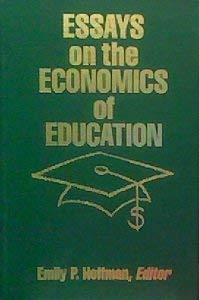 Essays on the Economics of Education: Western Michigan University Dept. of Economics