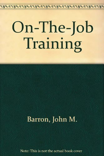 9780880991759: On-The-Job Training