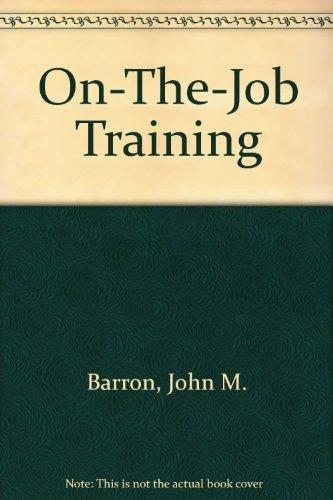 9780880991759: On-The-Job Training