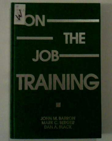 9780880991780: On-The-Job Training