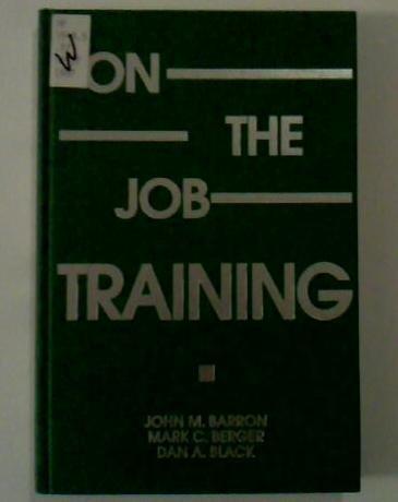 9780880991780: On-The-Job Training
