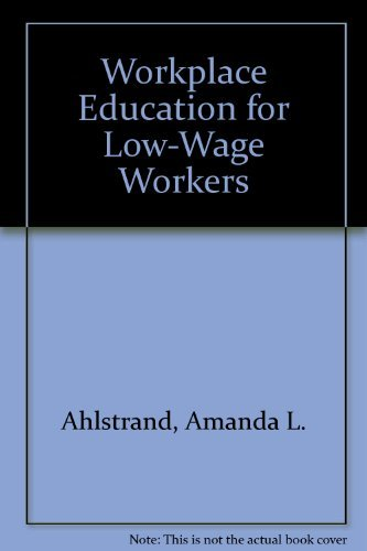 9780880992657: Workplace Education for Low-Wage Workers