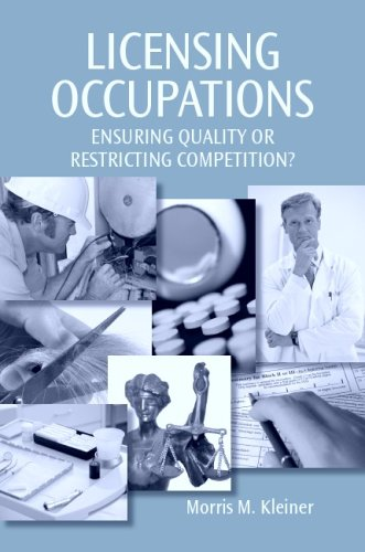 9780880992855: Licensing Occupations: Ensuring Quality or Restricting Competition?