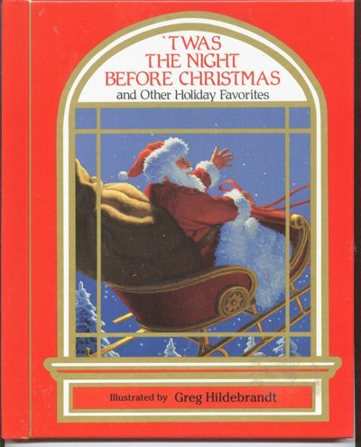 9780881011036: Twas the Night Before Christmas and Other Holiday Favorites (Through the Magic Window)