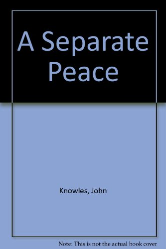 the importance of friendship in a separate peace by john knowles Buy a cheap copy of a separate peace book by john knowles they are of no importance to him many people can relate to knowles' central theme of friendship.