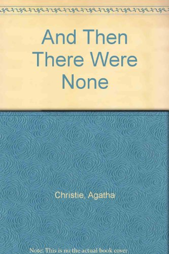 9780881032567: And Then There Were None