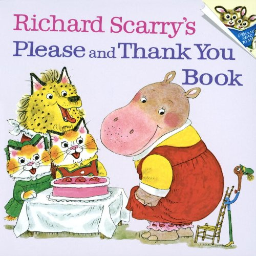 9780881033991: Richard Scarry's Please and Thank You Book (Random House Picturebacks (Pb))