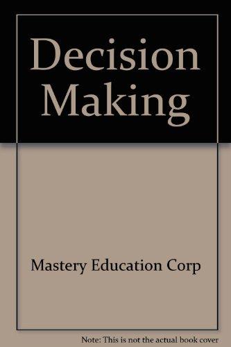 9780881061468: Decision Making