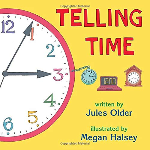 9780881063967: Telling Time: How to Tell Time on Digital and Analog Clocks