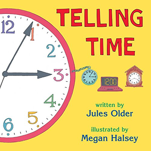 9780881063974: Telling Time: How to Tell Time on Digital and Analog Clocks