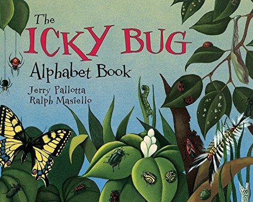 The Icky Bug Alphabet Book (Jerry Pallotta's: Jerry Pallotta