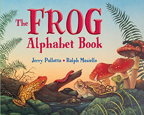 9780881064636: Frog Alphabet Books: And Other Awesome Amphibians (Jerry Pallotta's Alphabet Books)