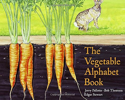 9780881064698: The Vegetable Alphabet Book (Jerry Pallotta's Alphabet Books)