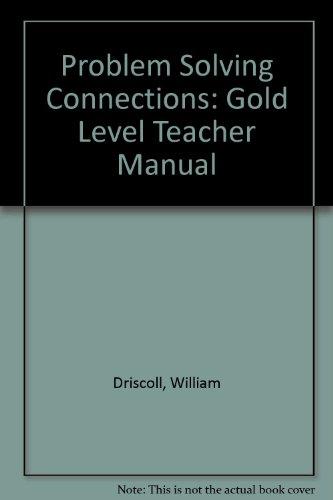 9780881066579: Problem Solving Connections: Gold Level Teacher Manual