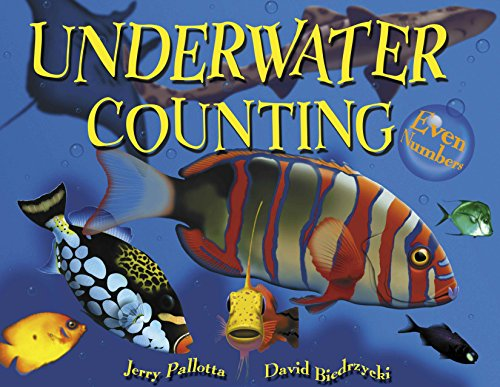 Underwater Counting: Even Numbers: Pallotta, Jerry
