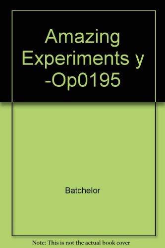 9780881101973: Amazing Experiments y -Op\0195