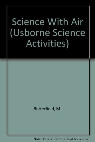 9780881105810: Science With Air (Usborne Science Activities)