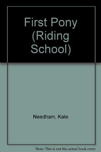 9780881108415: First Pony (The Usborne Riding School)