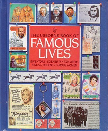 9780881109986: Usborne Book of Famous Lives (Famous Lives Series)