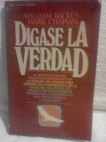 9780881130492: Digase La Verdad (Spanish Edition)